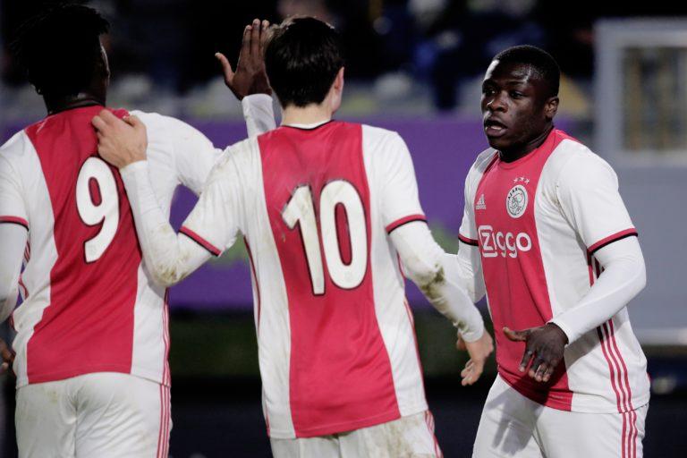 Substitute Brobbey heads Jong Ajax to victory versus NAC