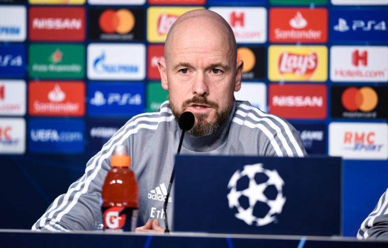 "Erik ten Hag: ""We won't make any concessions in our playing style"""