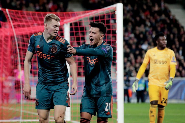 Match report: Narrow victory in Lille puts Ajax on the verge of the knock-out stages