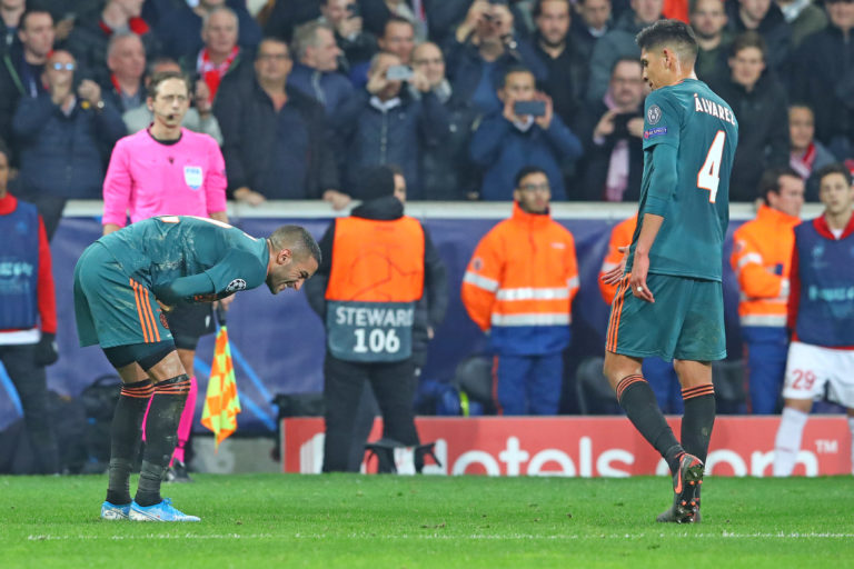 Injury update: Labyad misses Twente game, Ziyech uncertain