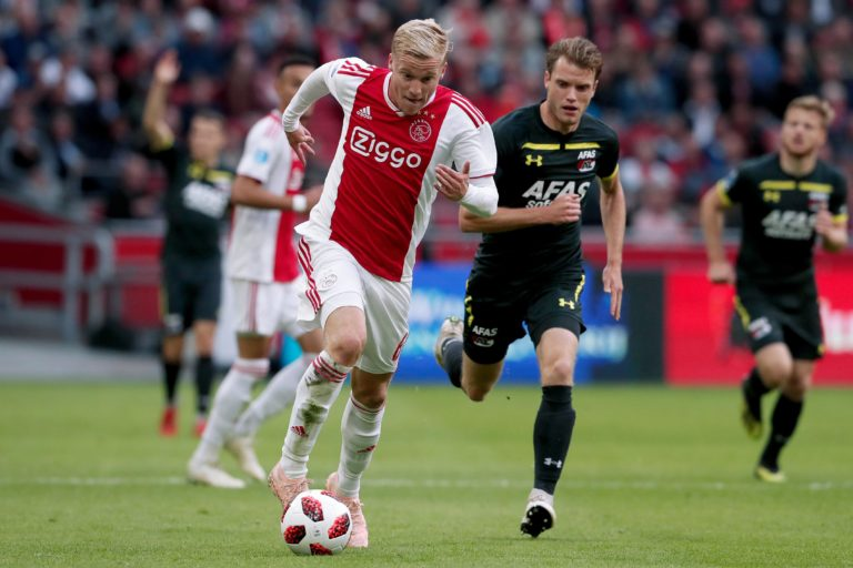 Expected line-up Ajax versus AZ