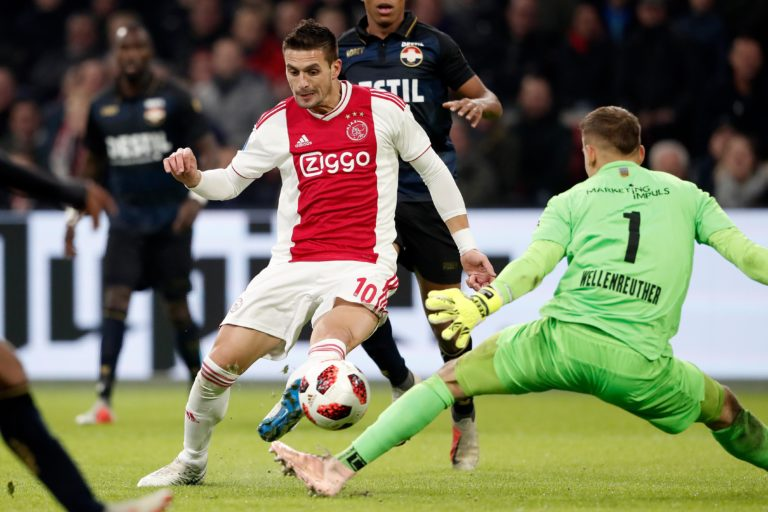 Expected line-up Ajax – Liverpool: Tadic back to striker role