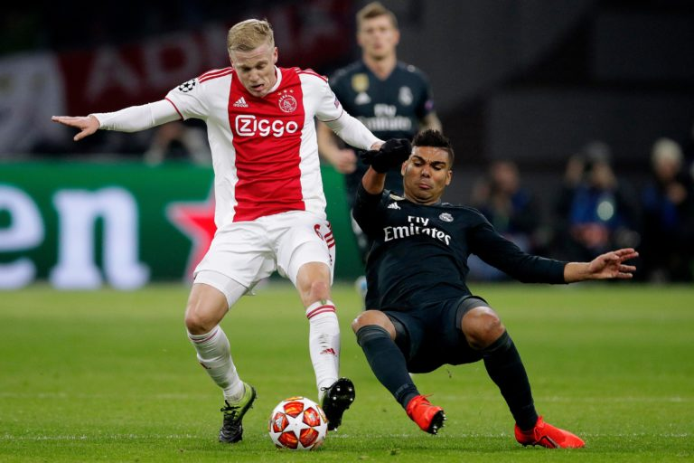 Van de Beek refuses Tottenham, Real Madrid willing to pay €55 million