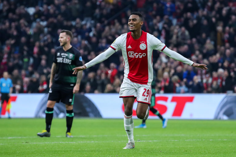 Match report: youthful Ajax wrap up 2019 with a resounding win against ADO