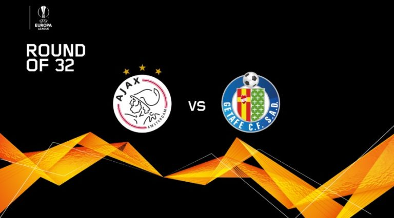 Ajax starts Europa League adventure against Getafe