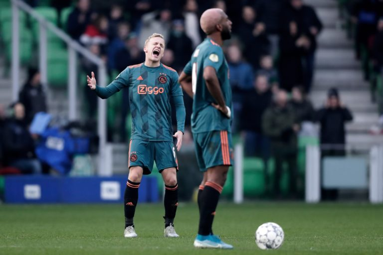 Match report: Ajax take a beating in physical battle against FC Groningen