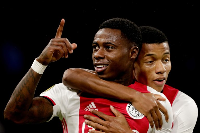 Injury update: David Neres and Quincy Promes are close to return