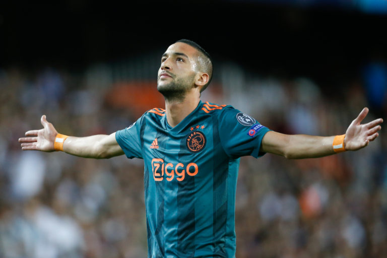 Ajax and Chelsea reach agreement over transfer Ziyech, €45 million