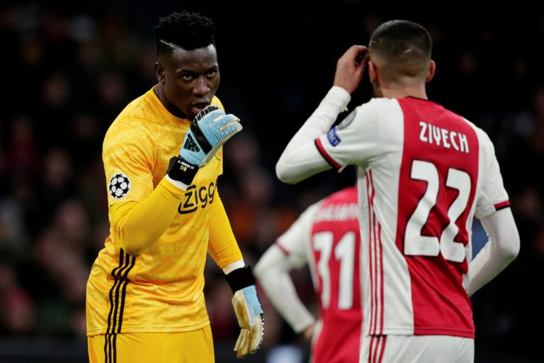 Onana wants to leave Ajax: 'It's time to take the next step'