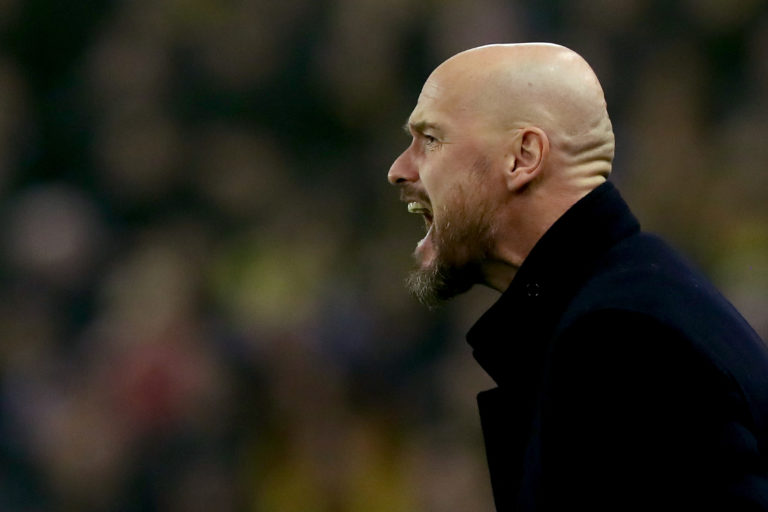 "Ten Hag: ""It's amazing that they're both back"""