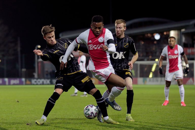 Match report: Jong Ajax loses to NAC after 2-0 lead