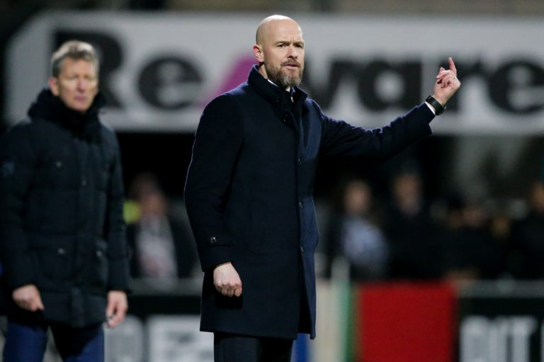 """Ten Hag: """"Dissapointing, but we have to remain calm"""""""