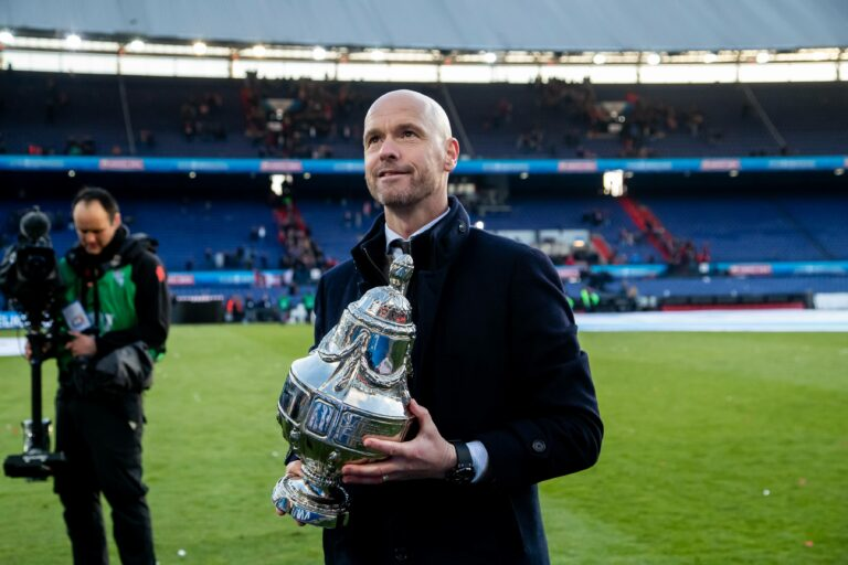 Ajax win 20th KNVB Cup in a 2-1 win over Vitesse